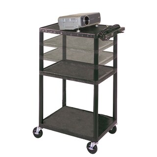 Porch & Den Bolivar Mercer Multi-height Plastic Cart