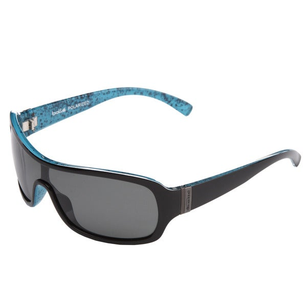 Bolle Men's Black/ Turquoise Sunglasses