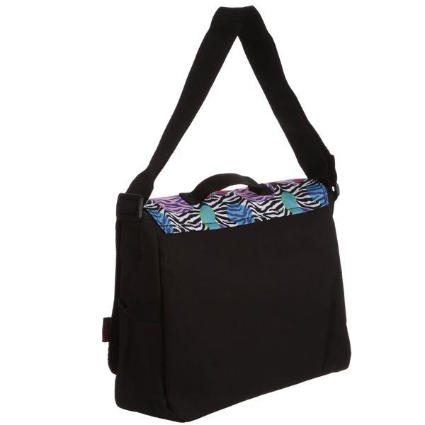Zebra Stripe Unisex Crossbody Single Shoulder Bag Lightweight Bag With Adjustable Strap Travelling Bag