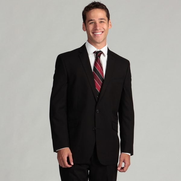 Kenneth Cole Reaction Men's Black 2-piece Suit
