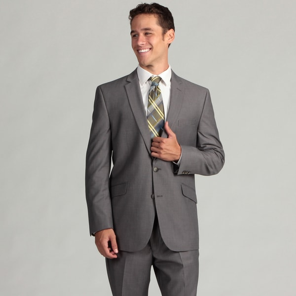 Kenneth Cole Reaction Men's Grey 2-piece Suit - Free Shipping