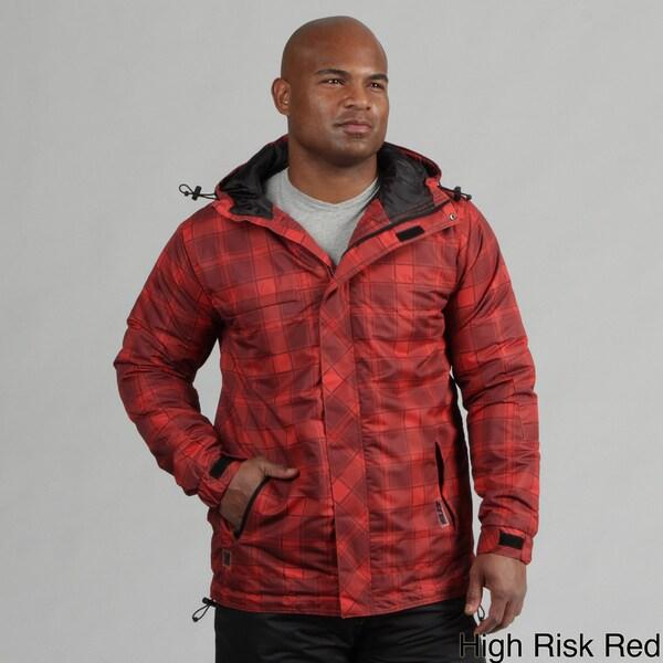Zonal Men's Plaid Snowboarding Jacket