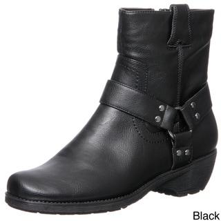 Aerosoles Women's 'Destiny' Buckle Detail Ankle Boots FINAL SALE