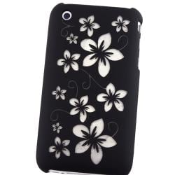 BasAcc Laser Black Hawaii Snap-on Case for Apple iPhone 3G/ 3GS - Thumbnail 2