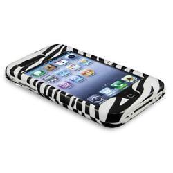 BasAcc White/ Black Zebra Snap-on Case for Apple iPhone 3G/ 3GS - Thumbnail 2