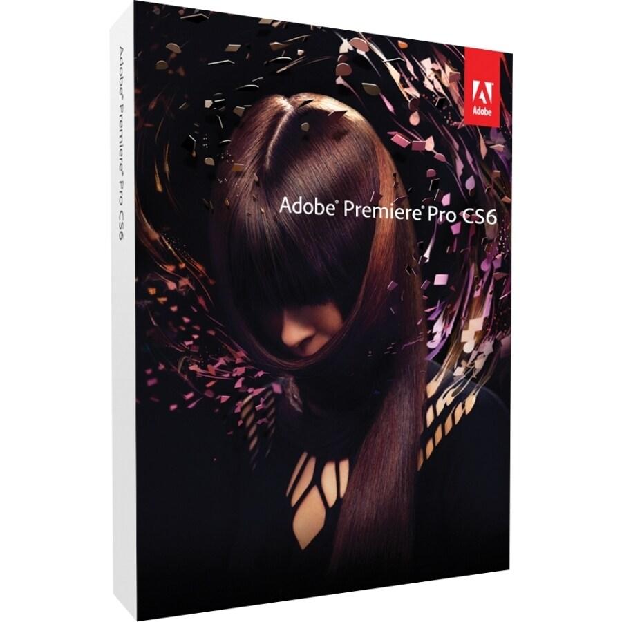 Adobe Premiere Pro CS6 v 6 0 64-bit - Complete Product - 1 User - Standard