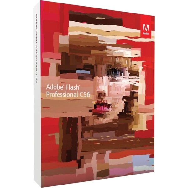 Adobe Flash CS6 v.12.0 Professional - Complete Product - 1 User - Sta