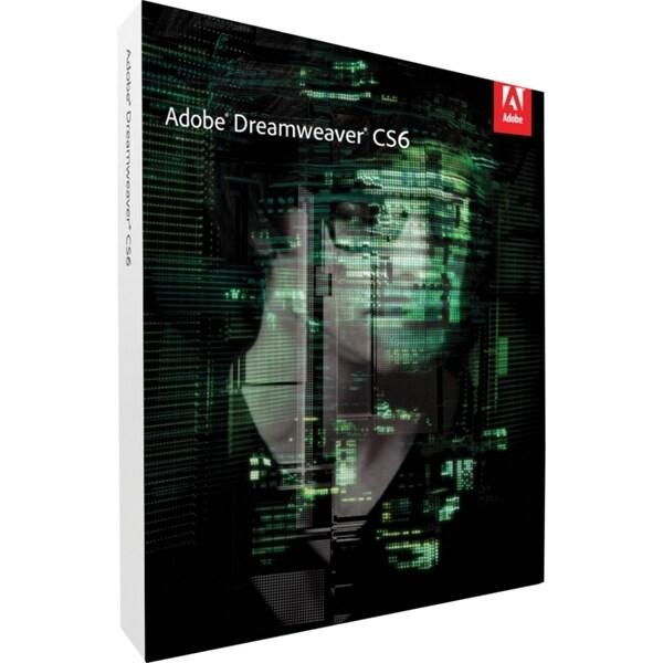Adobe Dreamweaver CS6 v.12.0 - Complete Product - 1 User - Standard