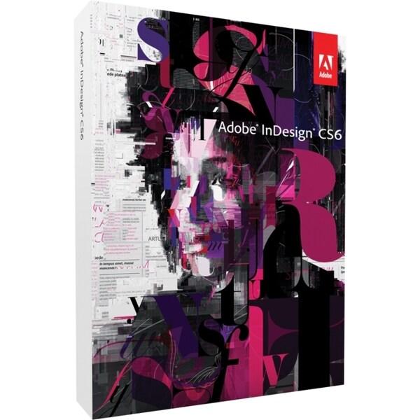 Adobe InDesign CS6 v.8.0 - Complete Product - 1 User - Standard