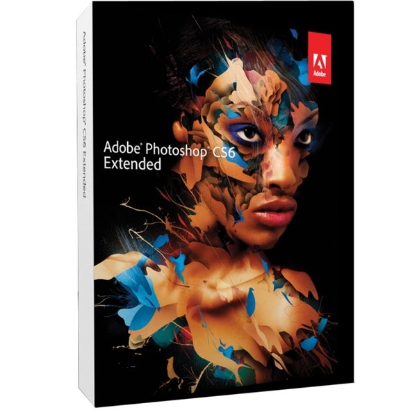 Adobe Photoshop CS6 v.13.0 Extended - Complete Product - 1 User - Sta