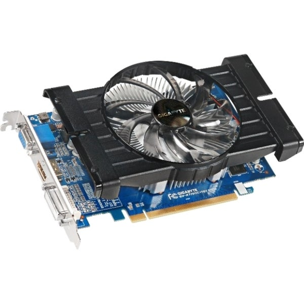 Gigabyte Radeon HD 7750 Graphic Card - 880 MHz Core - 1 GB GDDR5 - PC
