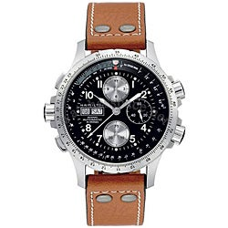 Hamilton Men's Khaki Stainless Steel Watch - Thumbnail 0