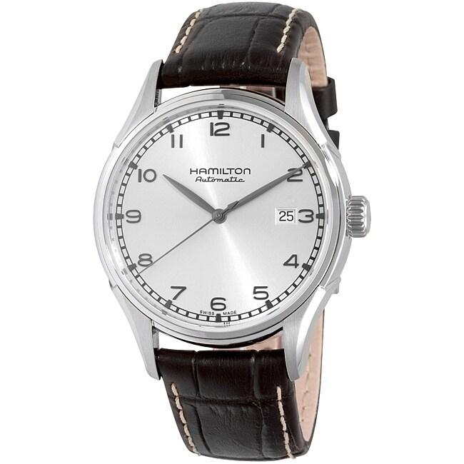 Hamilton Men's Valiant Silver Dial Watch