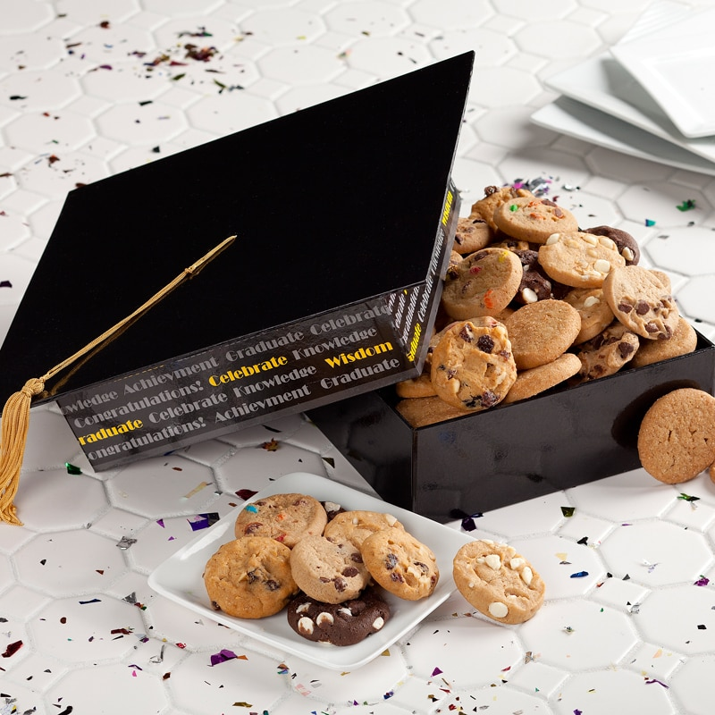 Mrs. Fields Cookies Graduation Cap Box