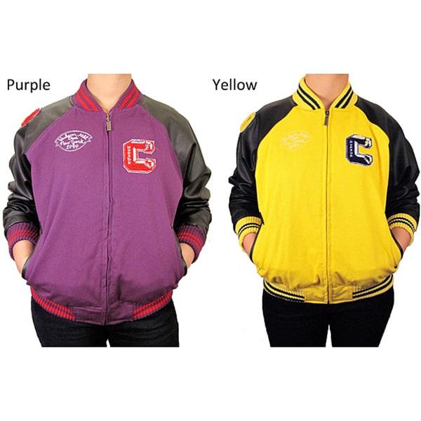 Hudson Outerwear Children's Cotton Twill Varsity Jacket