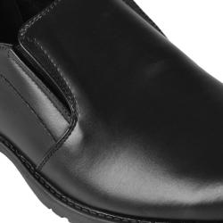 Oxford & Finch Men's Topstitched Leather Slip-on Loafers - Thumbnail 2