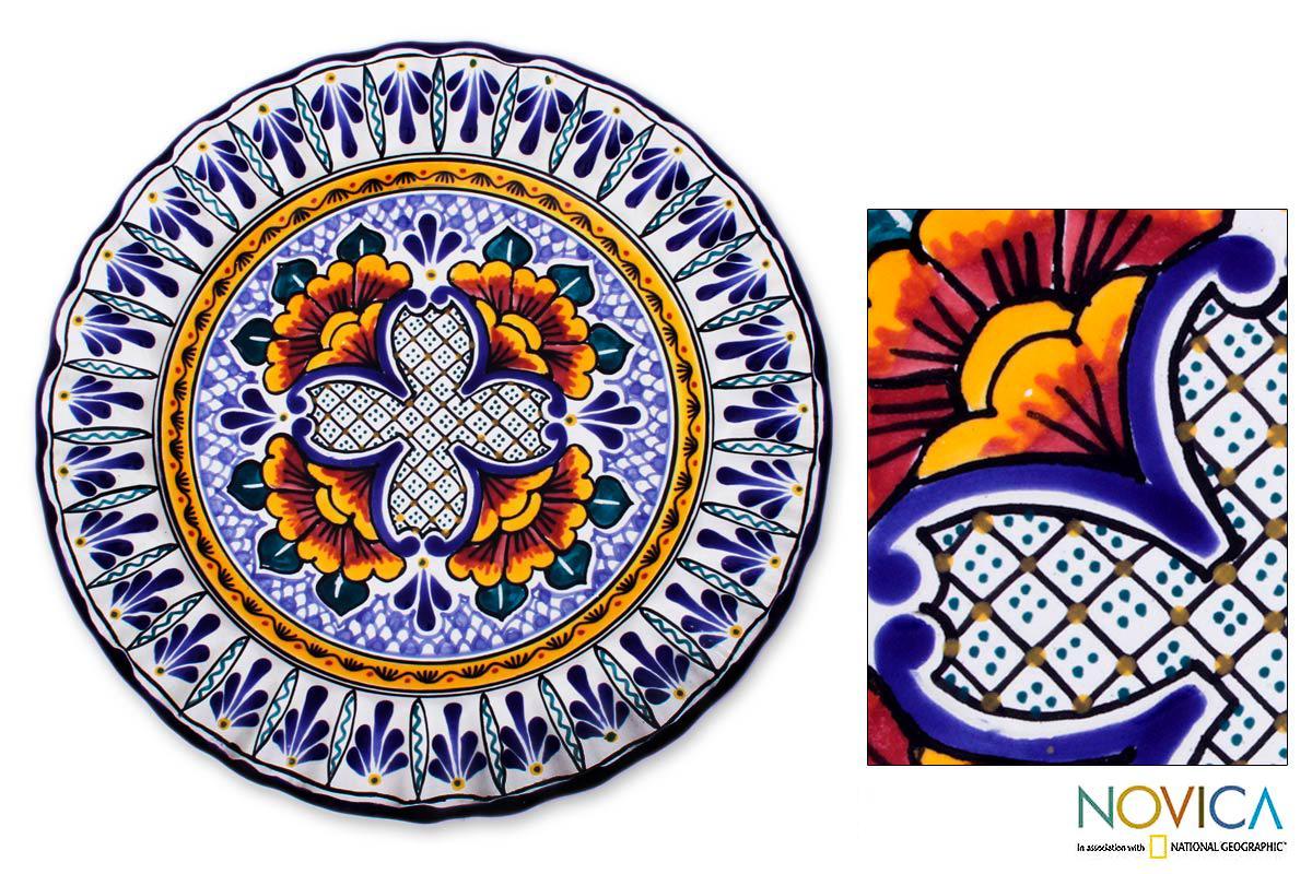 Shop Handmade Talavera Ceramic Grand Duchess Serving