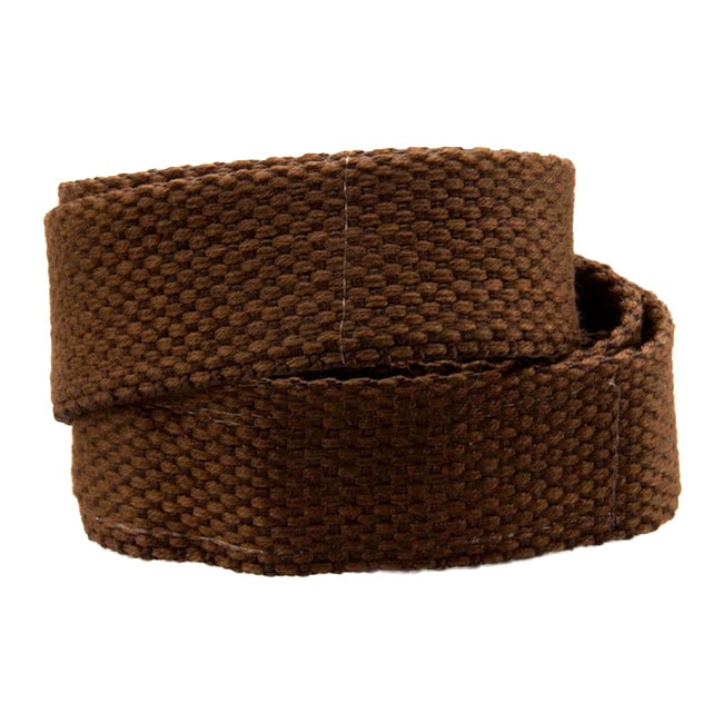 Children's Espresso Hook-and-loop Belt