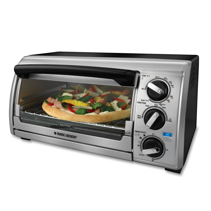 Black And Decker Countertop Oven Not Working : Black and Decker Black 4-slice Bezel Toaster Oven