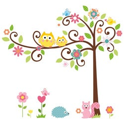 RoomMates Scroll Tree Peel and Stick Mega Pack Wall Decals