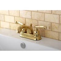 Polished Brass Bathroom Faucet