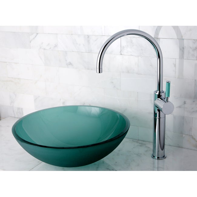 Designer Sink designer glass vessel sink - free shipping today - overstock