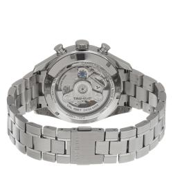 Tag Heuer Men's CAR2110.BA0720 'Carrera' Black Dial Automatic Chronograph Watch