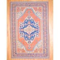 Herat Oriental Afghan Hand-knotted Soumak Wool Rug (10'4 x 16'5)