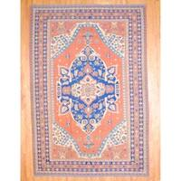 "Herat Oriental Afghan Hand-knotted Soumak Wool Rug - 10'4"" x 16'5"""