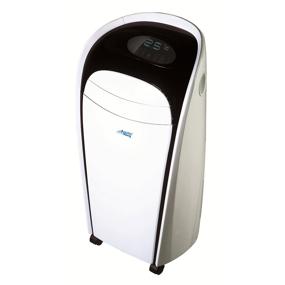 Midea 10K BTU Portable Air Conditioner, Grey metal