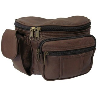 Amerileather Leather Cell Phone Holder/ Fanny Pack|https://ak1.ostkcdn.com/images/products/666530/P946424.jpg?_ostk_perf_=percv&impolicy=medium