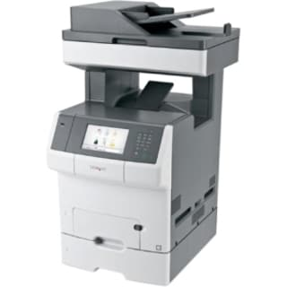 Lexmark X740 X748DTE Laser Multifunction Printer - Color - Plain Pape