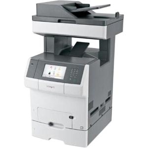 Lexmark X740 X748DTE Laser Multifunction Printer - Color - Plain Pape