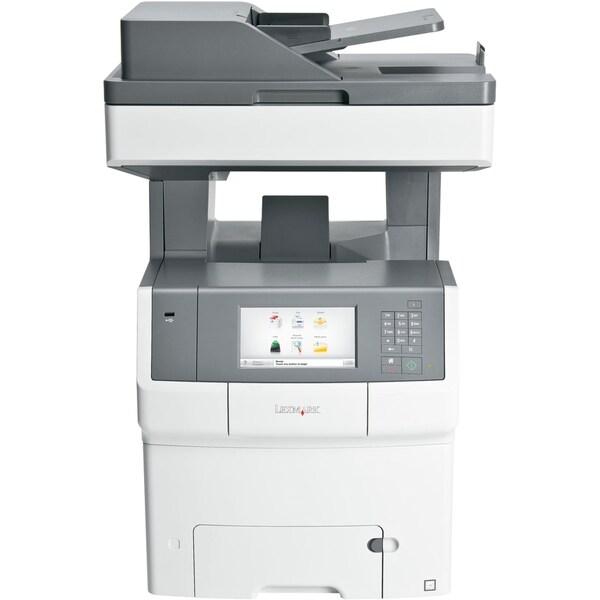 Lexmark X740 X748DE Laser Multifunction Printer - Color - Plain Paper
