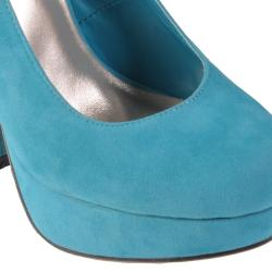 Journee Collection Women's 'Robin' Round Toe Platform Pump - Thumbnail 2