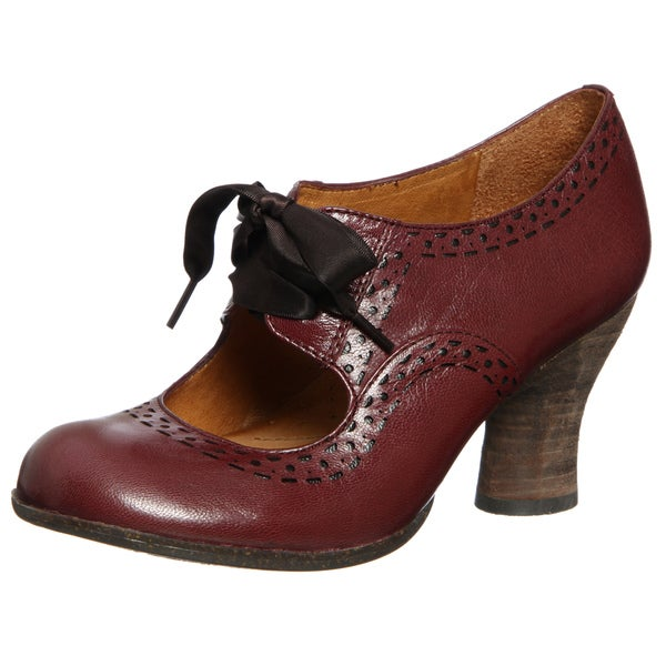 Naya Women's 'Jada' Bordo Mary Jane Pumps