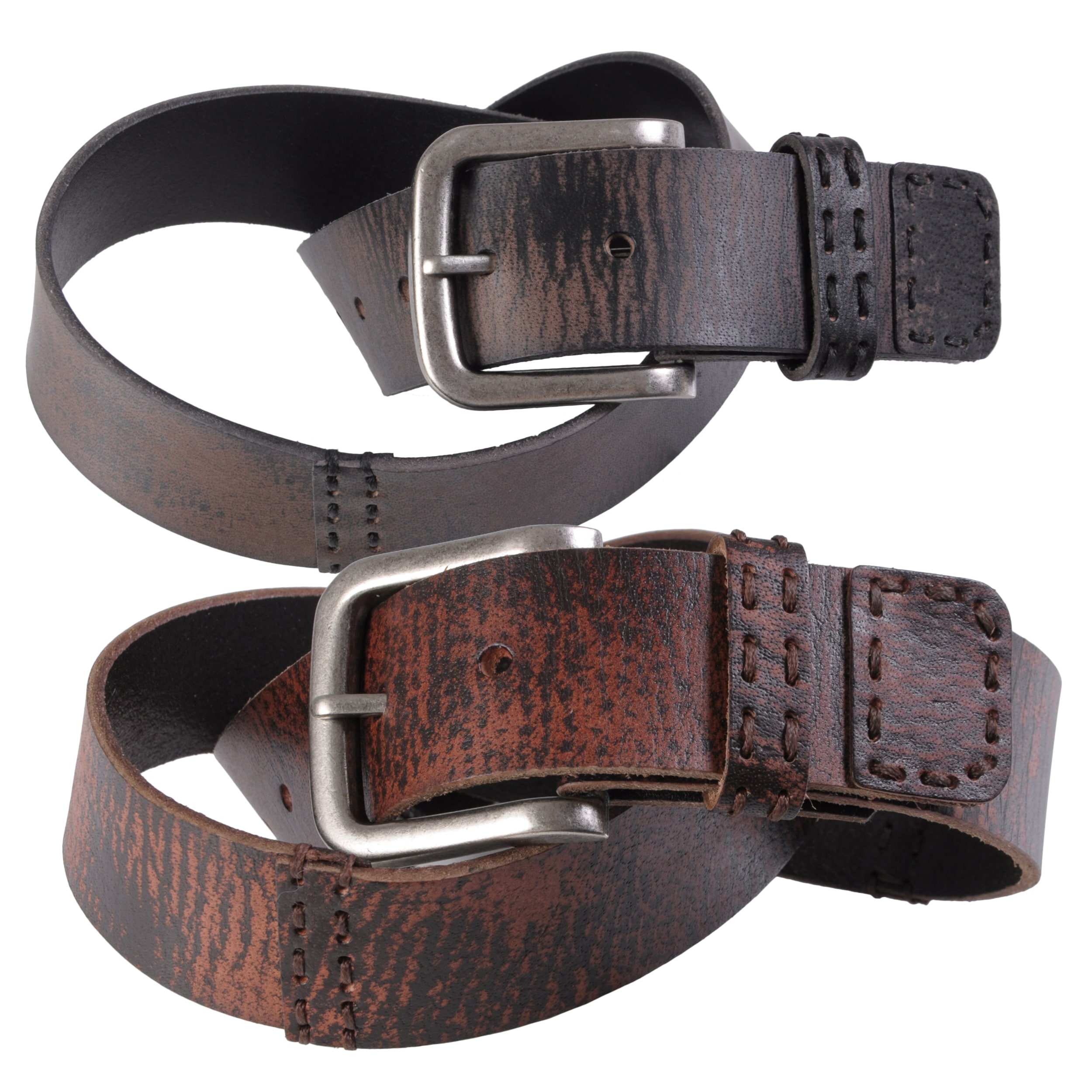 Journee Collection Women's Casual Distressed Belt