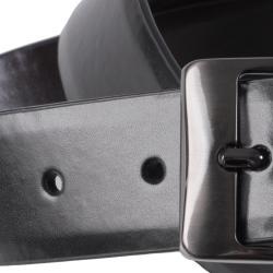 Joseph Abboud Men's Feathered Edge Reversible Leather Belt - Thumbnail 2