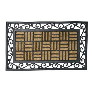 Brooklyn Black Rubber Door Mat 24 X 48 13308551