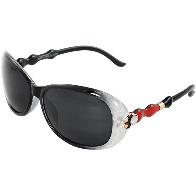 Women's Plastic Oval Fashion Sunglasses