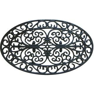 Rubber-Cal 'Verona' Rubber Cast Iron Door Mat