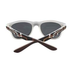 Urban Men's Brown Rubber Soft Touch Sunglasses - Thumbnail 2