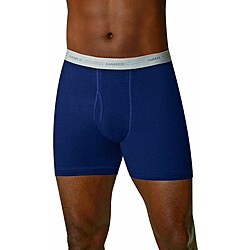 Hanes Men's Assorted Blues Boxer Briefs (Pack of 2)