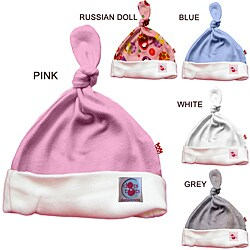 100-percent Organic Cotton Baby Knot Hat (2 options available)