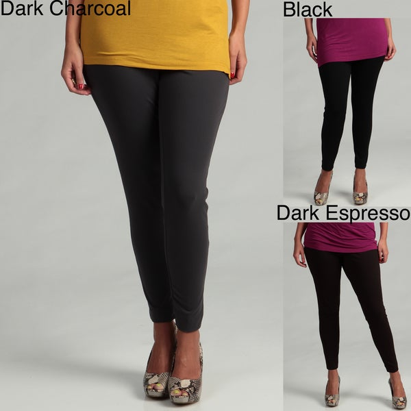 Grace Elements Women's Plus Size Basic Leggings