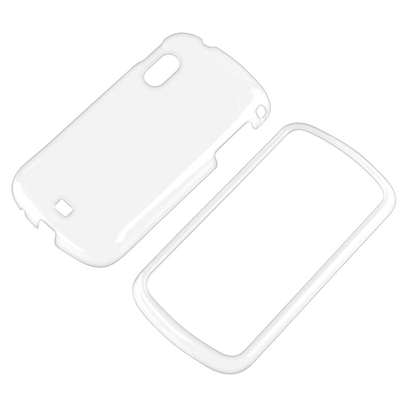 INSTEN Clear Snap-on Crystal Phone Case Cover for Samsung Stratosphere i405