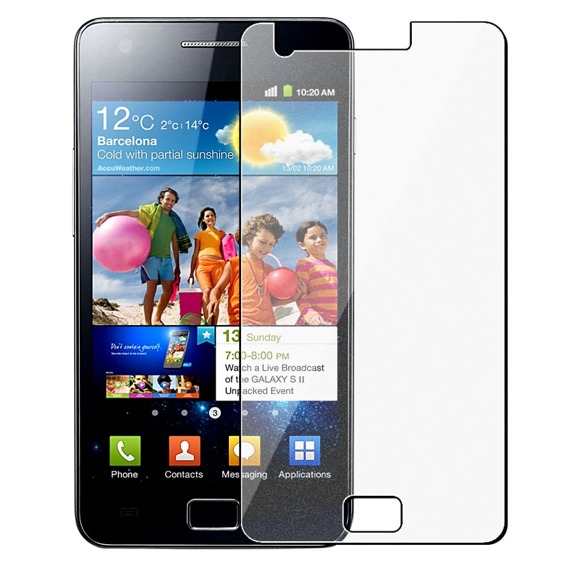 INSTEN Colorful Diamond Screen Protector for Samsung Galaxy S II i9100