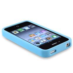 BasAcc Sky Blue TPU Bumper Case for Apple iPhone 4/ 4S