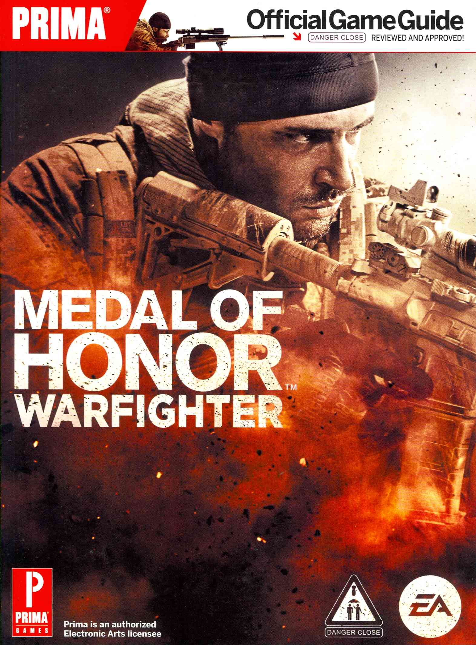 Medal of Honor: Warfighter: Prima Official Game Guide (Paperback)