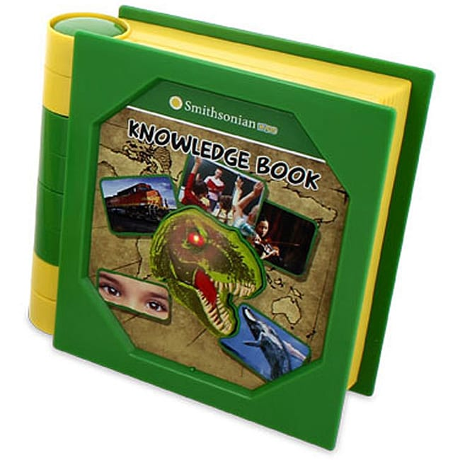 Smithsonian Kids Green Plastic Battery-powered Knowledge Book